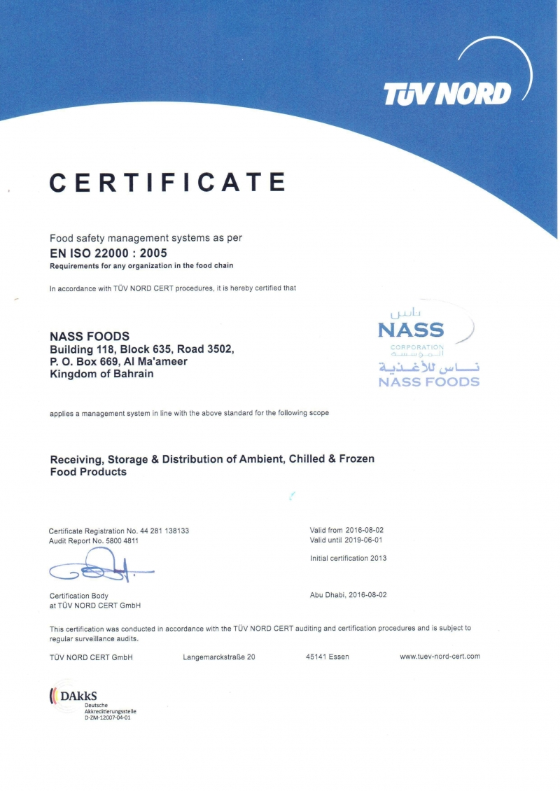 Nass Foods | Wholesale Operation of Food Products of American